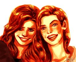 Sisters by Fidi-s-Art