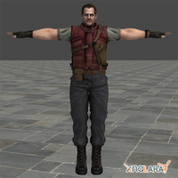 RE5 DLC: Barry Burton by blufan