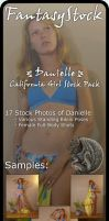 Danielle California Girl Pack by FantasyStock