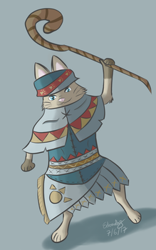 Palico Attempt by Yukireon