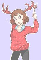 Reindeer by somecallmejdawg