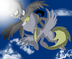 Hello Derpy (discord Whooves And Derpy Hooves) by ladynasweet