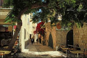 In the Old Jerusalem 4 by ShlomitMessica