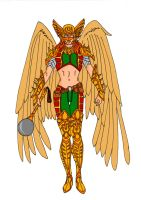 Hawkgirl Redesign by Comicbookguy54321