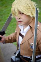 Attack on Titan - Reiner by Wolfenheim84