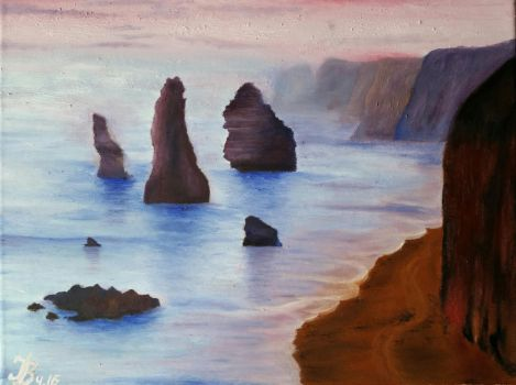 Twelve Apostles by DivinoArtista