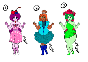 Foodgirl Adoptables :AUCTION: *OPEN* by HorrorEmpress