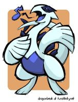 Lugia uses Hyper Voice by DragonBeak