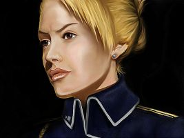 Riza Hawkeye by aliceazzo