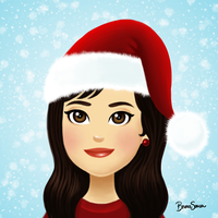Myself Xmas by brunasousa