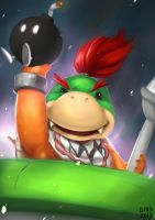 Bowser Jr. by SubetaKid