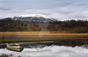 Nephin in snow by Flash-and-Flair