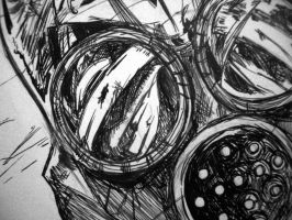Detail of my comics-Mask. by CaelpHer