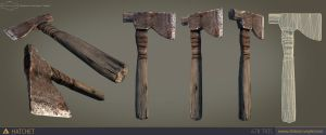 Low Poly Hatchet 2.0 by CCrumpler