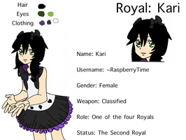 Live-In-Legend: The Second Royal by Balance-Song