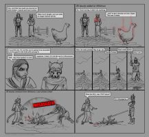 Skyrim Comic: Whiterun is in Danger by Daolpu