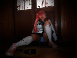 Saya Takagi -Highschool of the Dead | Watching. by NekoChanCosplay
