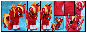 Fire Strike Custom Plush by Nazegoreng