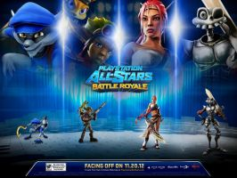 My New Playstation All-Stars Battle Royale Team by sonicrocker