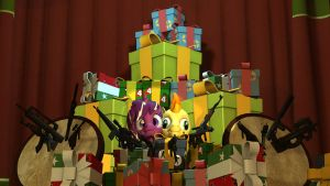 Teh Gift Fort for Booty! by Snipercakeman
