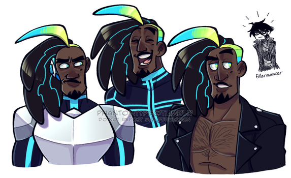 antoine doodles by TheUltimateEnemy