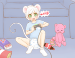 YCH: Ollie's Game - part 1 by Pastel-Hime