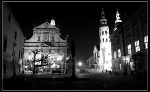 Cracow by night 20 by kazzdavore