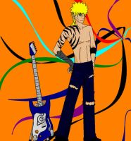 naruto the rockstar by jinchuarikisfury