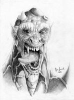 Devil Face by JIM-SWEET