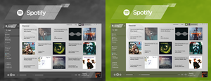 Spotify Desktop Concept by danielskrzypon