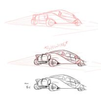 Process of a car by Fyuvix