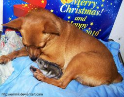 Another smoochy scene... :D by emmil