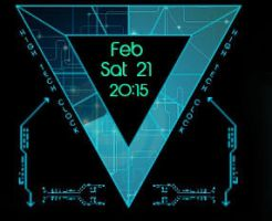 Animated Triangle Clock 1.0.3 by xordes