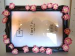 Cherry Blossom Picture Frame by FlamingChickCreation