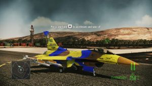 Falcon skin in  Ace Combat: Assault Horizon by Zhanrae30