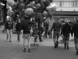Balloons by 666squirrelOFdeath