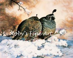 """Quiet Romance"" - Realism by robybaer"