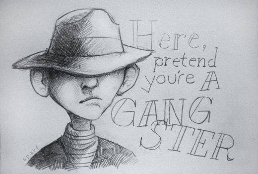 Here, pretend you're a gangster by sparsparf