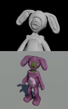 First 3D doodle by bulhaa