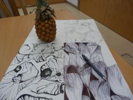 Pineapple by EdithSparrow