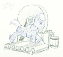 Big Mac's Millstone Sketch by ixbalam