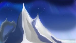 Snowy Mountain by PaulDS89