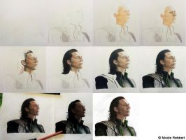 Loki (Avengers) step by step by Quelchii