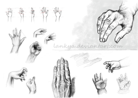 Sketches_hands2 by Lankya