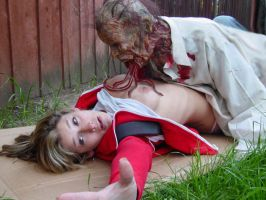 Zoey and the Zombie by EBrummer