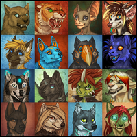 Icons 07 by Shadow-Wolf