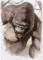 King Kong by cuccadesign