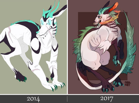 redraw 2014/2017 by MOHNOT