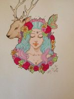 Shoulder tattoo design by FOX-hime