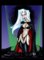 Lady Death by billmausart